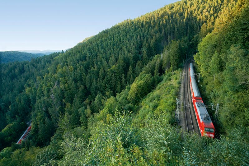 Regional Express in Black Forest Copyright Deutsche Bahn AG