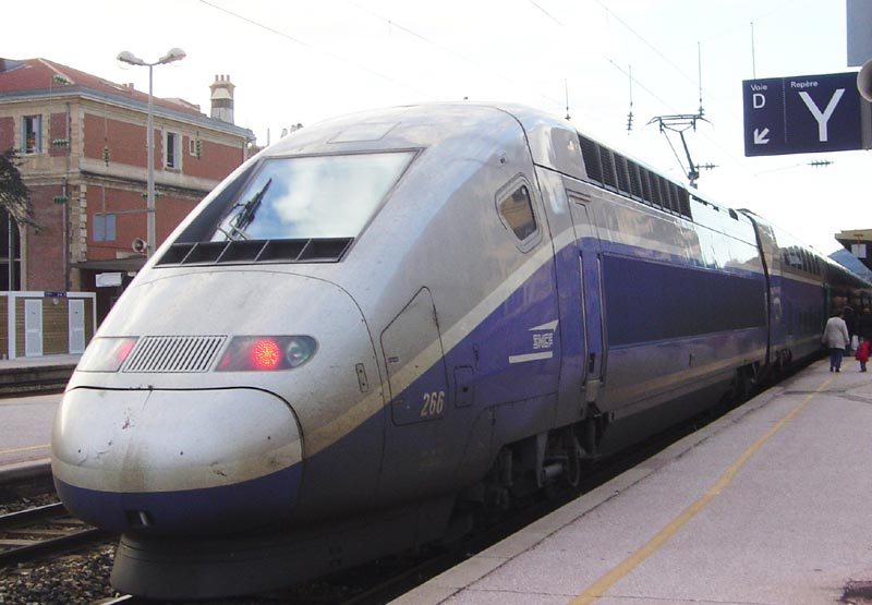 A to B France - TGV Double Decker