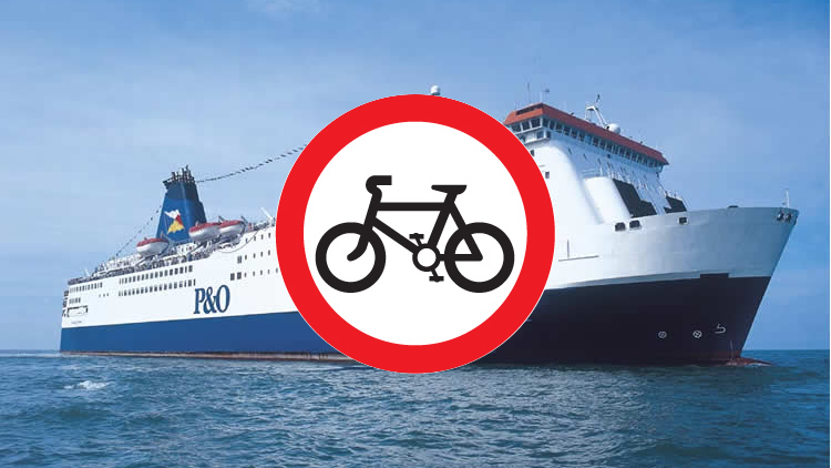 Bike/Ferry restrictions