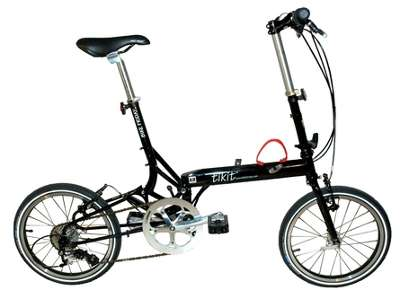 A to B folding bike - Bike Friday Tikit