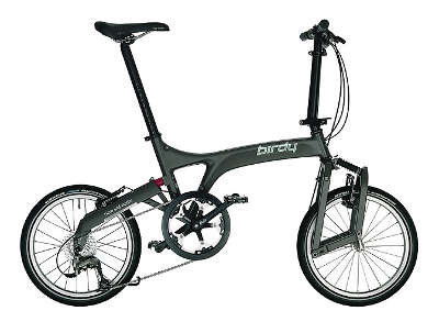 A to B folding bike - Birdy
