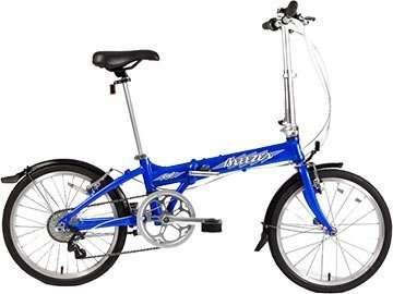 A to B folding bikes - Breezer