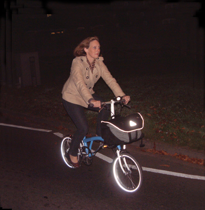 Brompton S2L commuting in the dark