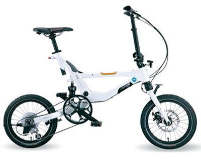 A to B folding bike - Jango Flik