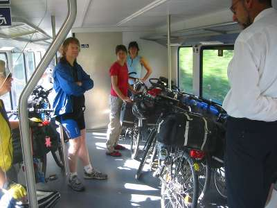 Europe by bike and train - Luxembourg