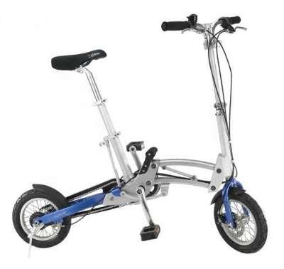 A to B folding bike - Mobiky Genius